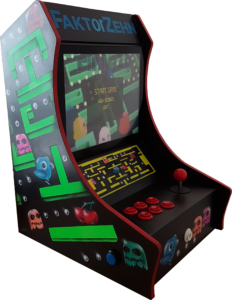 Finished Arcade Machine (left)