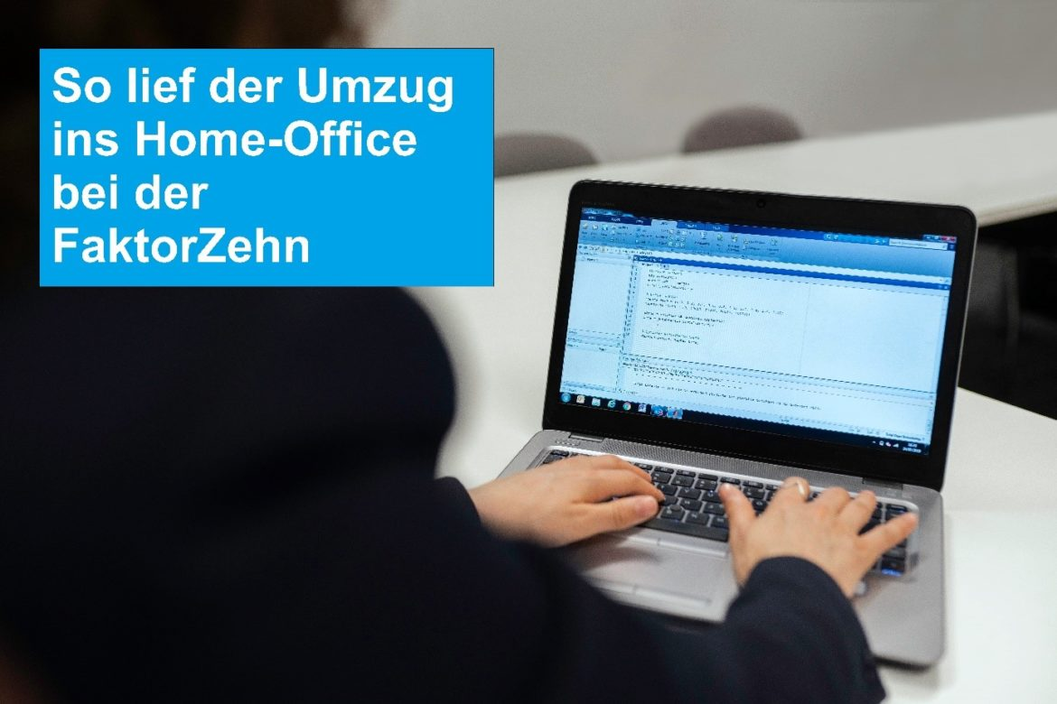 Umzug ins Home-Office